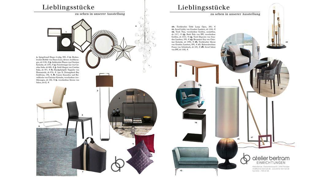 lieblingsst cke atelier bertram einrichtungshaus potsdam. Black Bedroom Furniture Sets. Home Design Ideas